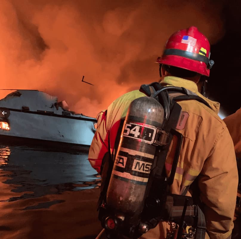 Santa Barbara County Fire Department and Ventura County Fire Department