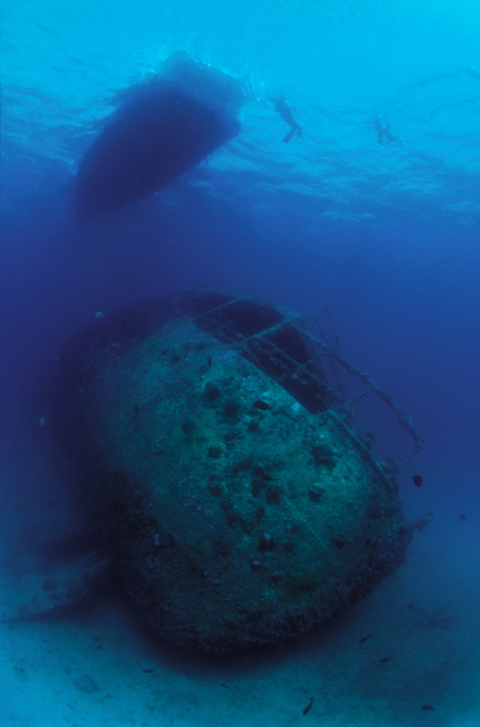 wreck diving 1