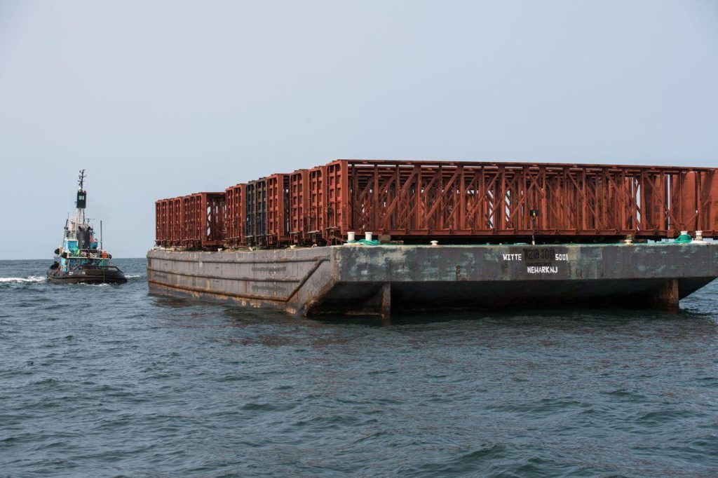 New York artificial reef system