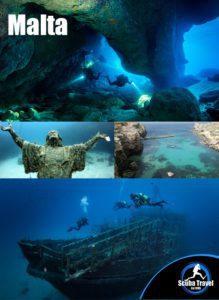 Scuba Travel, Malta, Med, scuba diving hlidays