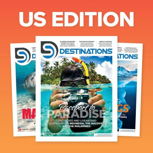 Scuba Diver Mag US Destinations Edition Subscription