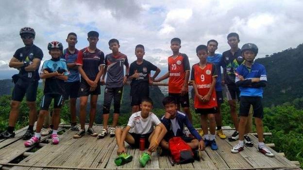Missing Thailand football squad