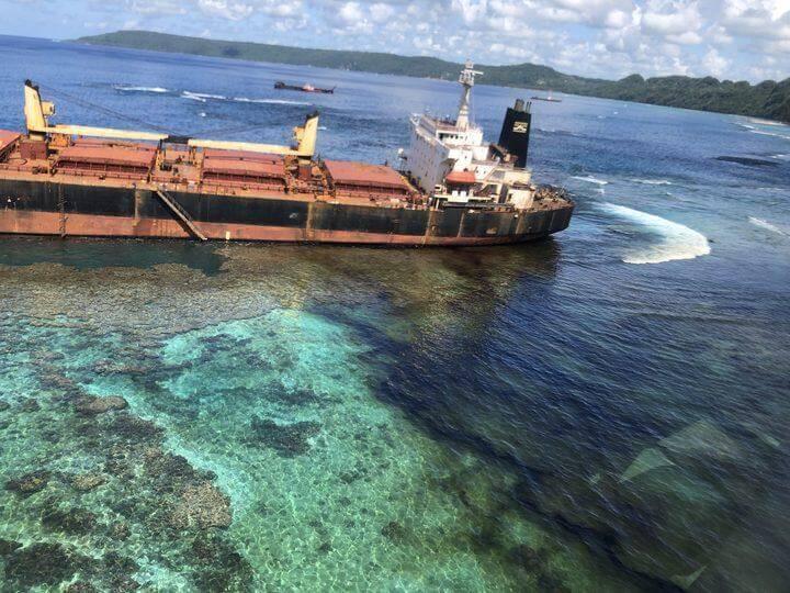 Solomons marine reserve facing environmental disaster